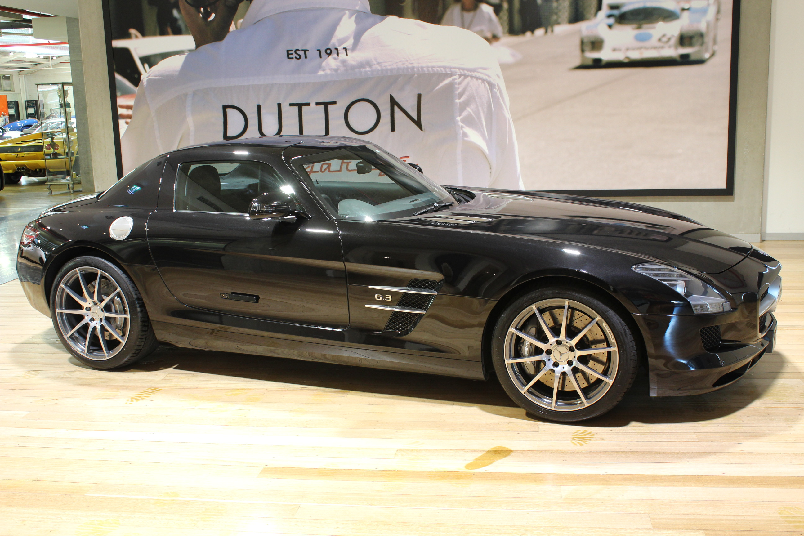 2011 MERCEDES SLS C197 AMG SPEEDSHIFT DCT - for sale in Australia
