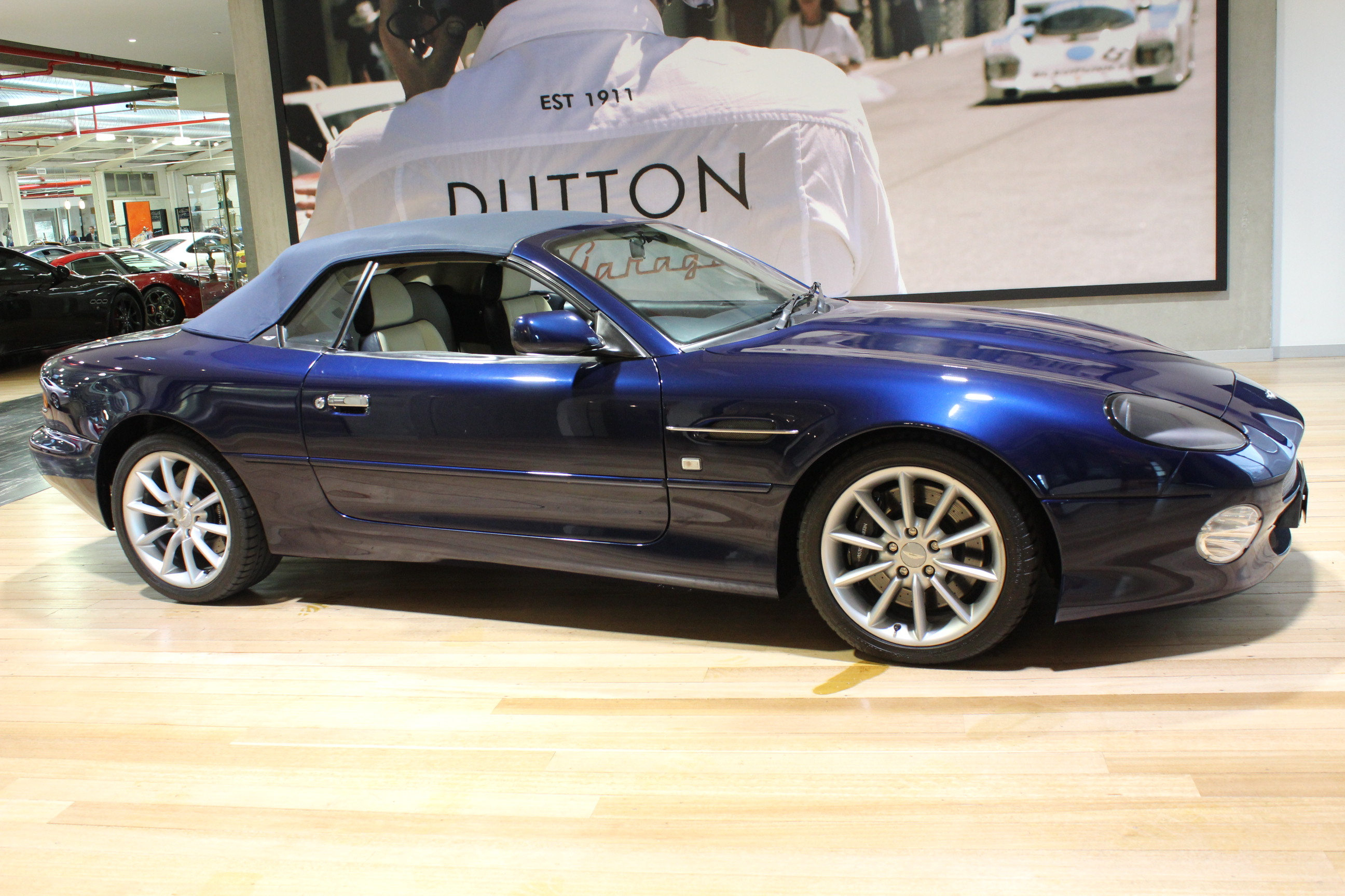 2001 ASTON MARTIN DB7 VANTAGE VOLANTE - for sale in Australia