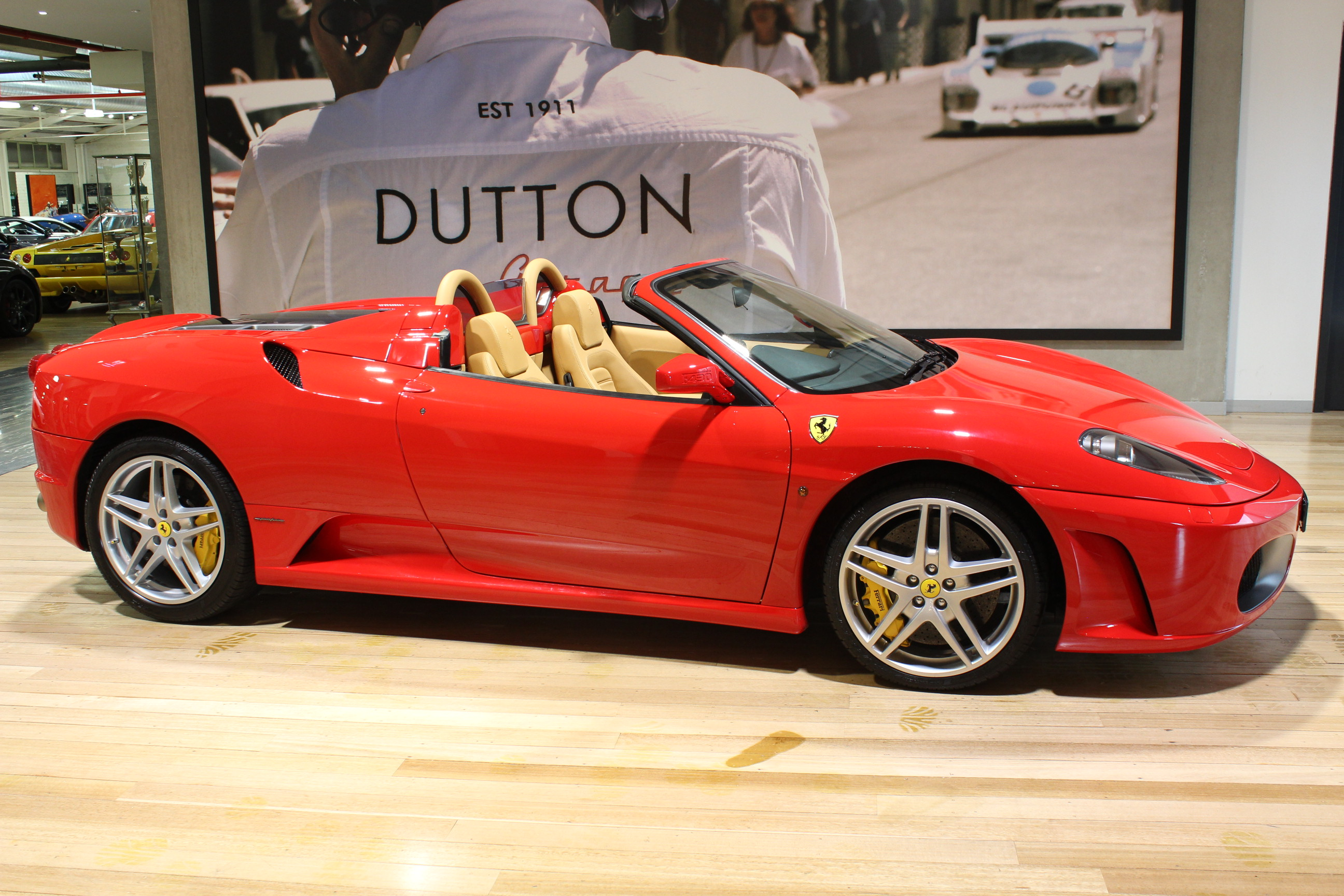 2008 Ferrari F430 F136 Convertible 2dr Man 6sp 4.3i for sale in Australia