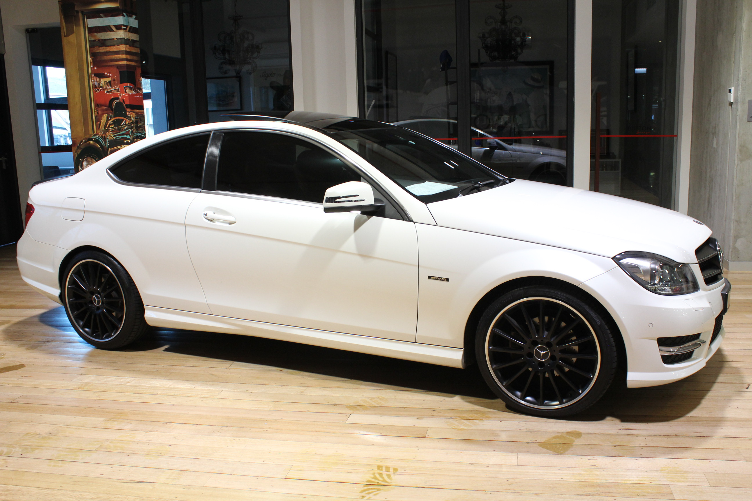 2011 Mercedes-Benz C250 CDI C204 BlueEFFICIENCY Coupe 2dr 7G-TRONIC 7sp 2.1DTT [Rel. May] - for sale in Australia
