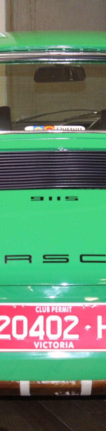 1972 Porsche 911 S - Green for sale in Australia