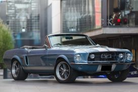 1967 Ford Mustang Convertible 2dr Auto 3sp, 289