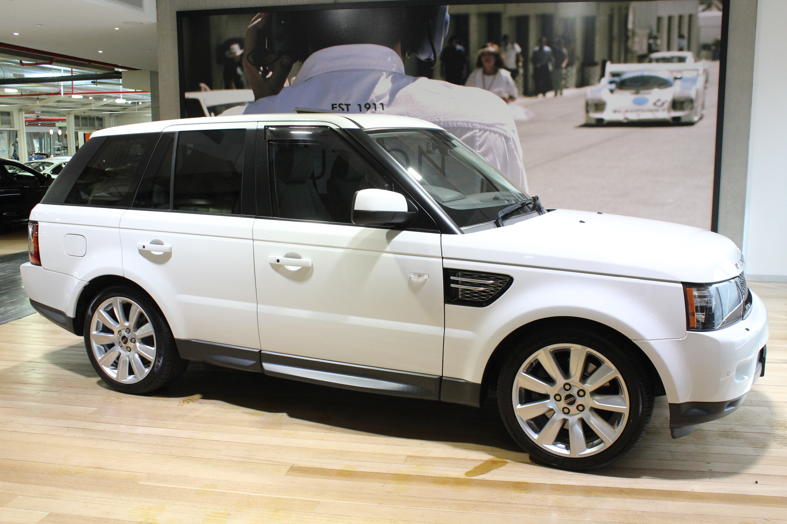 2012 Land Rover Range Rover Sport L320 SDV6 Luxury - for sale in Australia