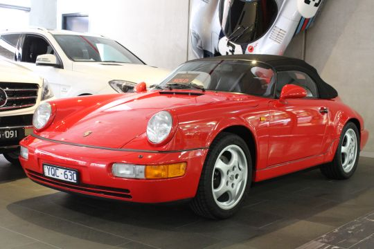 1993 Porsche 964  Speedster - sold by Dutton Garage