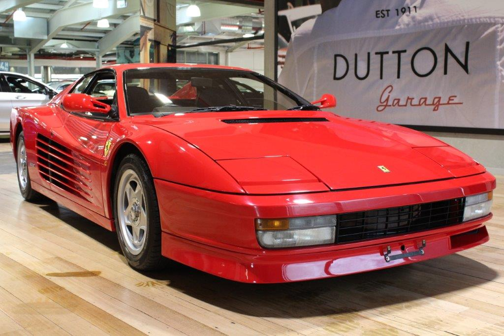 1987 Ferrari Testarossa Centre Lock Hub Wheels For Sale