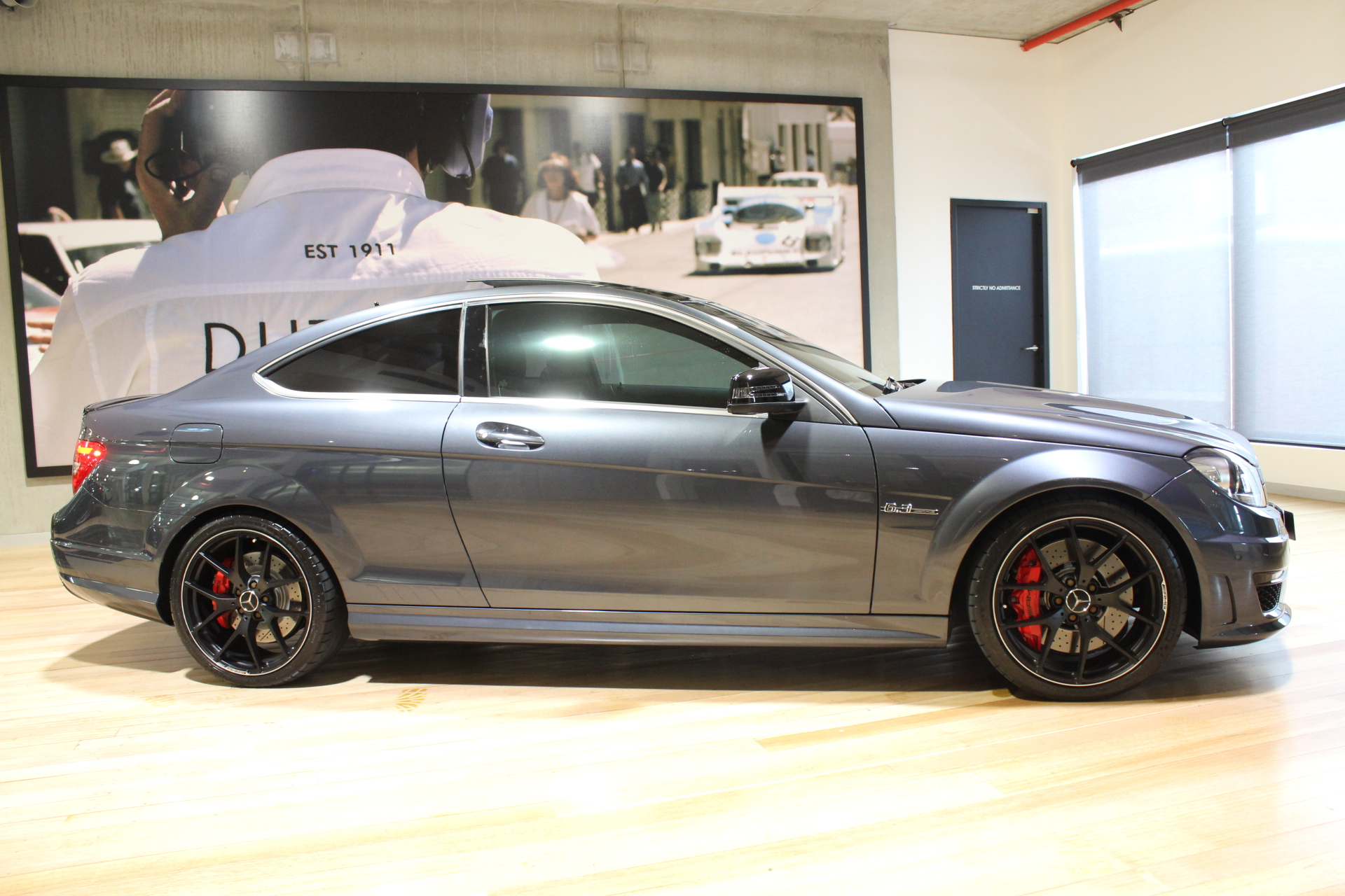 2014 MERCEDES C63 C204 AMG SPEEDSHIFT EDITION 507- sold in Australia