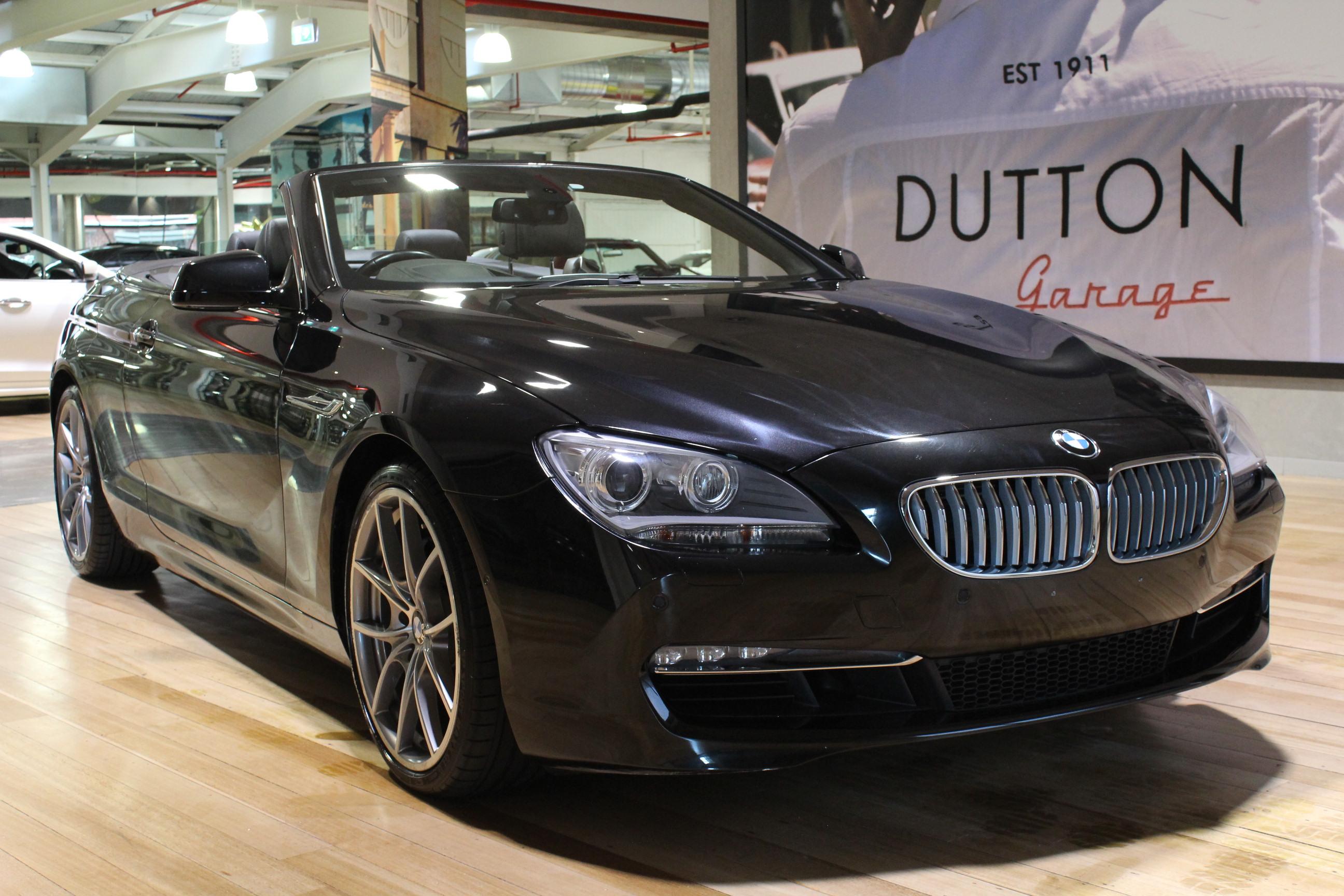 2011 BMW 650i F12 Convertible 2dr Steptronic 8sp 4.4TT MY11