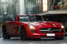 2011 Mercedes-Benz SLS R197 AMG Roadster 2dr SPEEDSHIFT DCT 7sp 6.3i