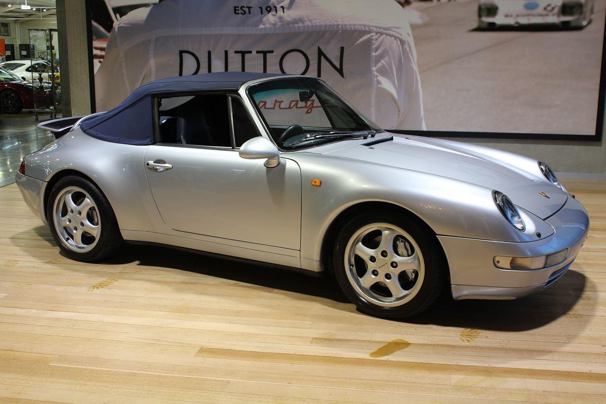 1995 Porsche 993 Carrera 4 Cabriolet