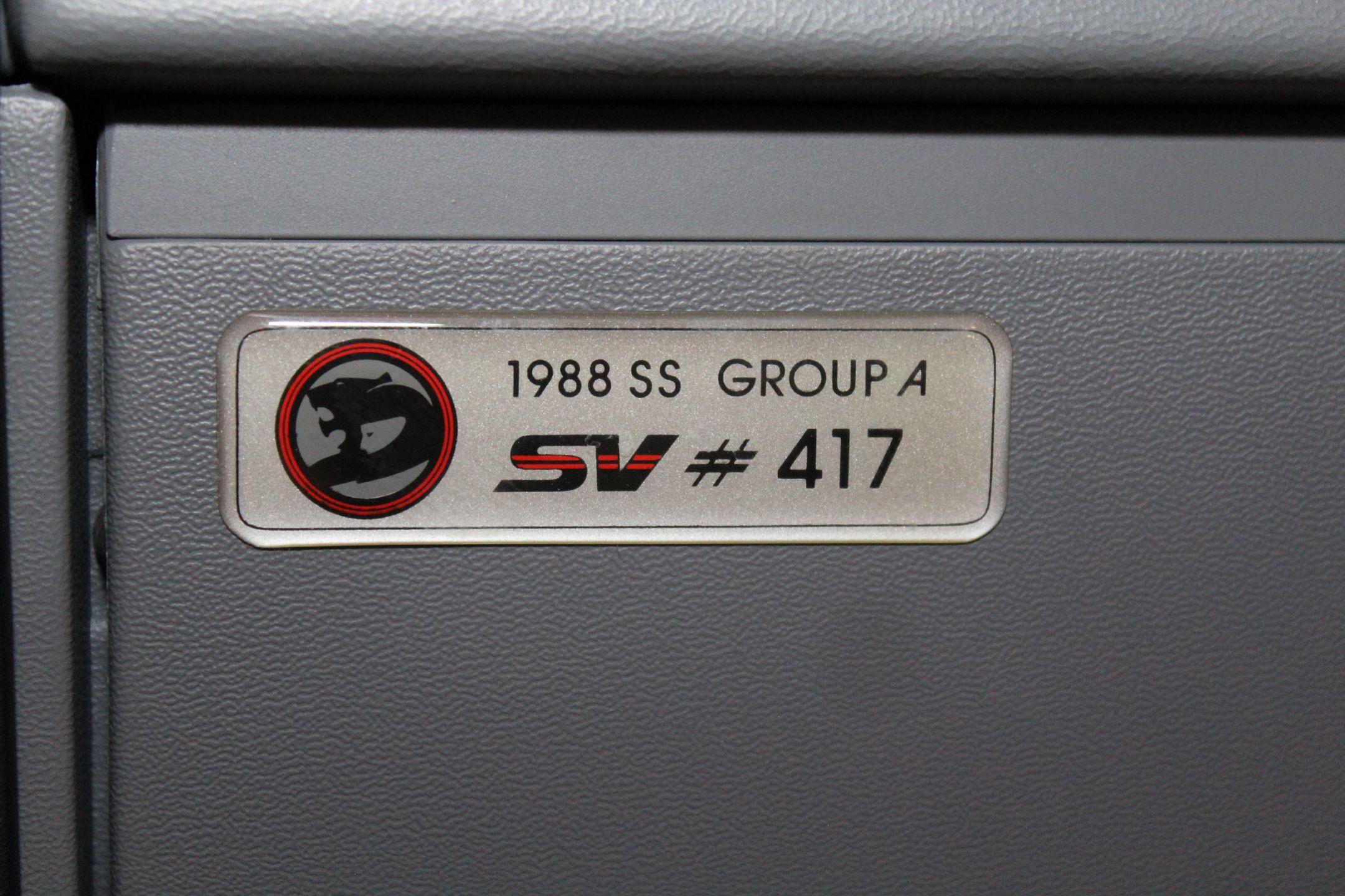 1988 Holden HSV VL Walkinshaw #417/500   For Sale   Dutton