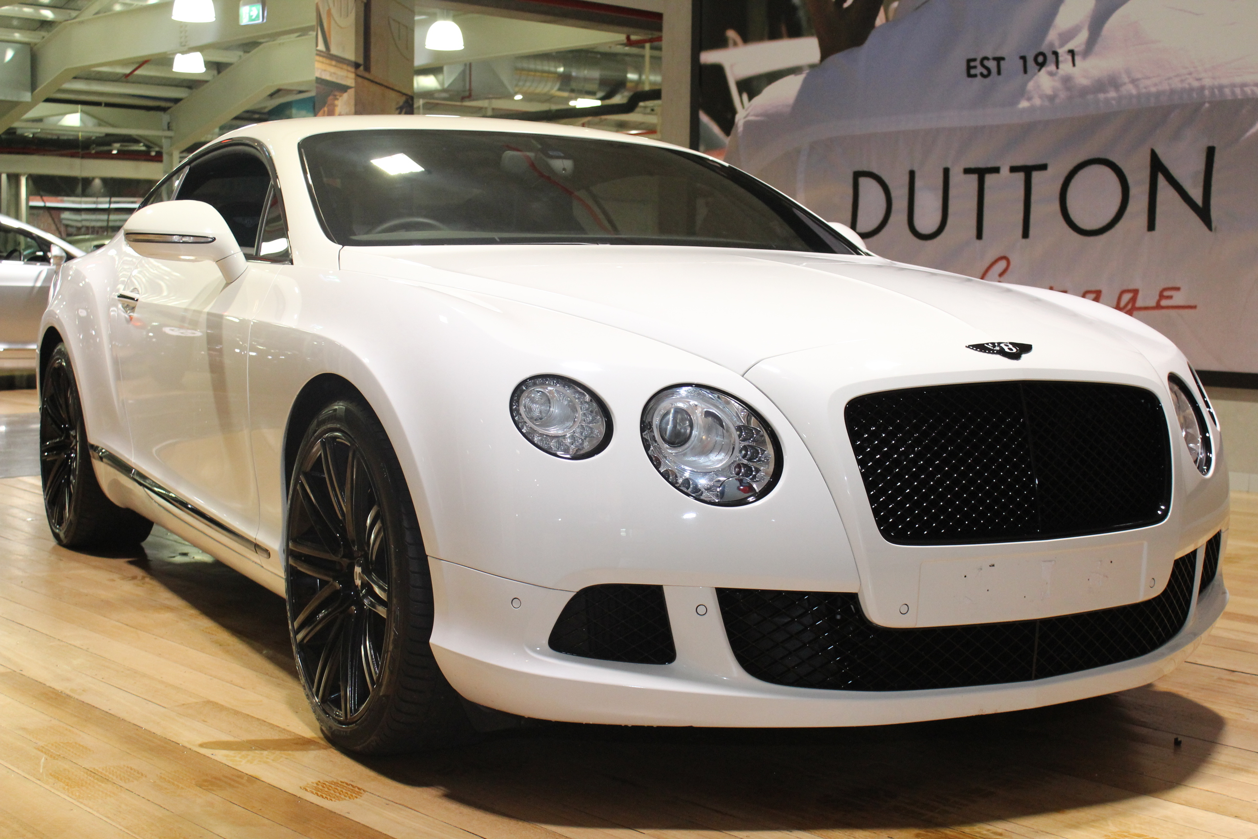 2013 Bentley Continental 3w Gt Speed Coupe 2dr Spts Auto