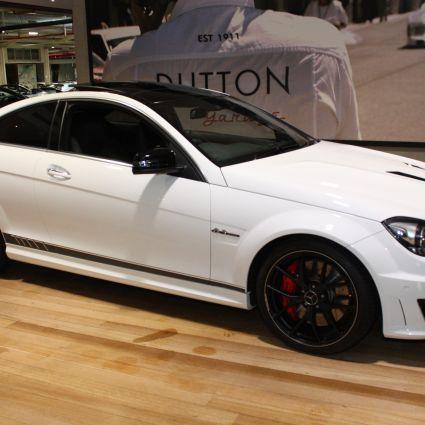 2014 MercedesBenz C63 C204 AMG Edition 507 Coupe 2dr SPEEDSHIFT