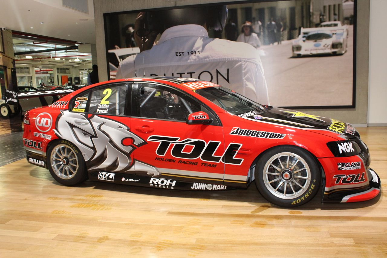Holden Ve Commodore Supercar
