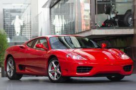 2004 Ferrari 360 Modena F1 Coupe 2dr Seq. Mac 6sp 3.6i