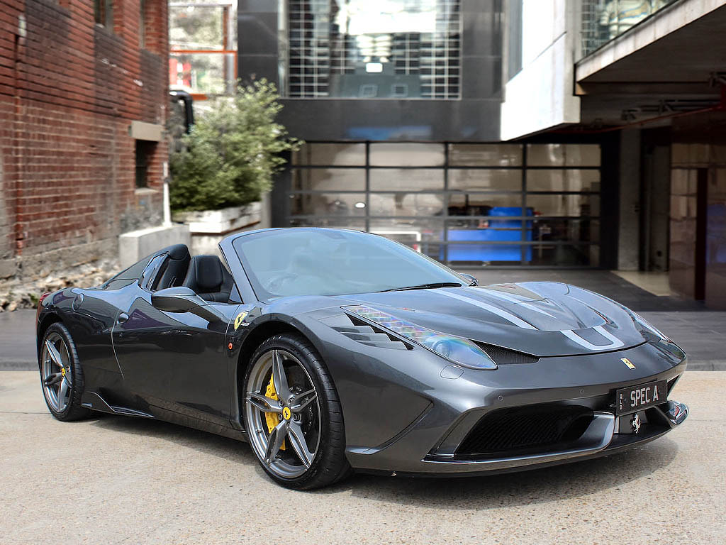 2015 ferrari 458 'speciale aperta' rhd | for  | dutton garage