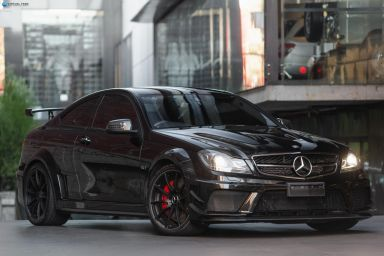 2012 Mercedes-Benz C63 C204 AMG Black Series Coupe 2dr SPEEDSHIFT MCT 7sp 6.3i [MY12]