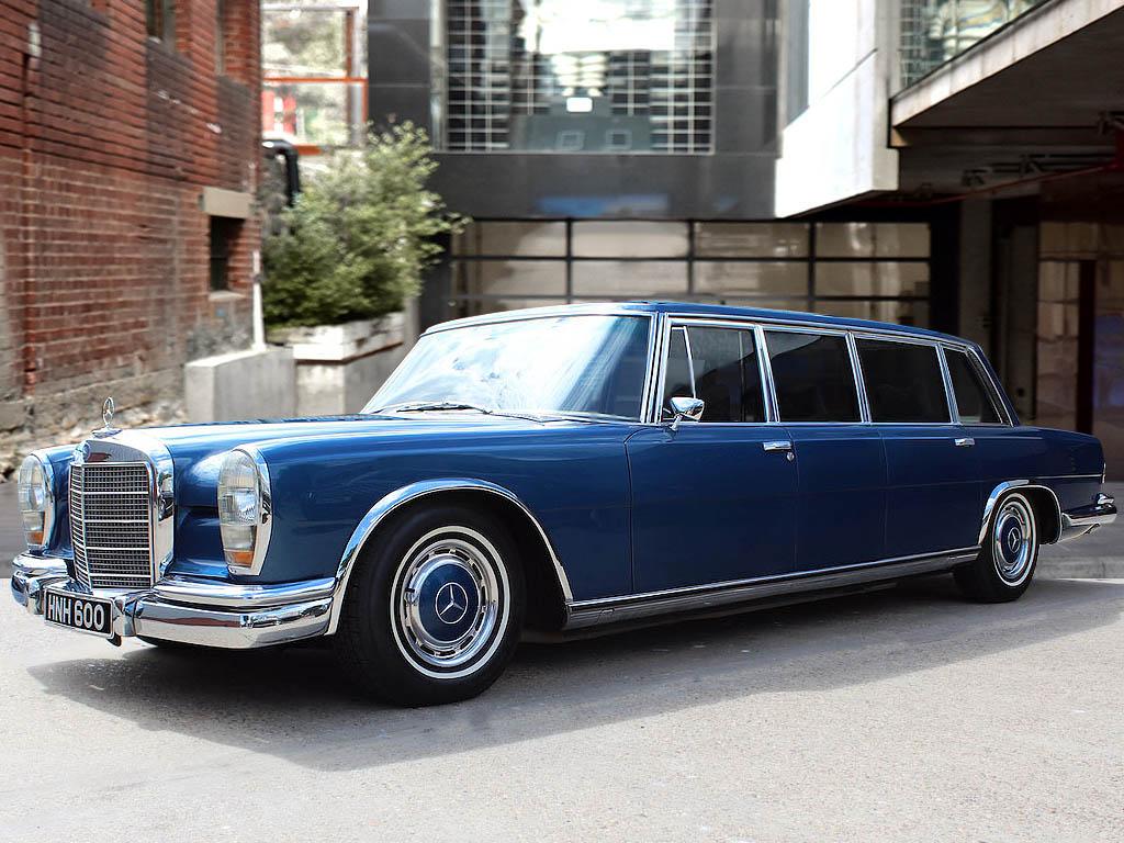 1975 Mercedes-Benz 600 6-Door Pullman RHD   For Sale ...