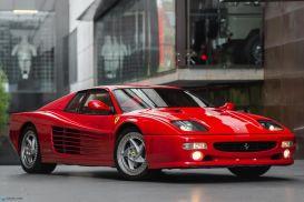 1995 Ferrari F512M Coupe 2dr Man 5sp 5.0i [Aug]