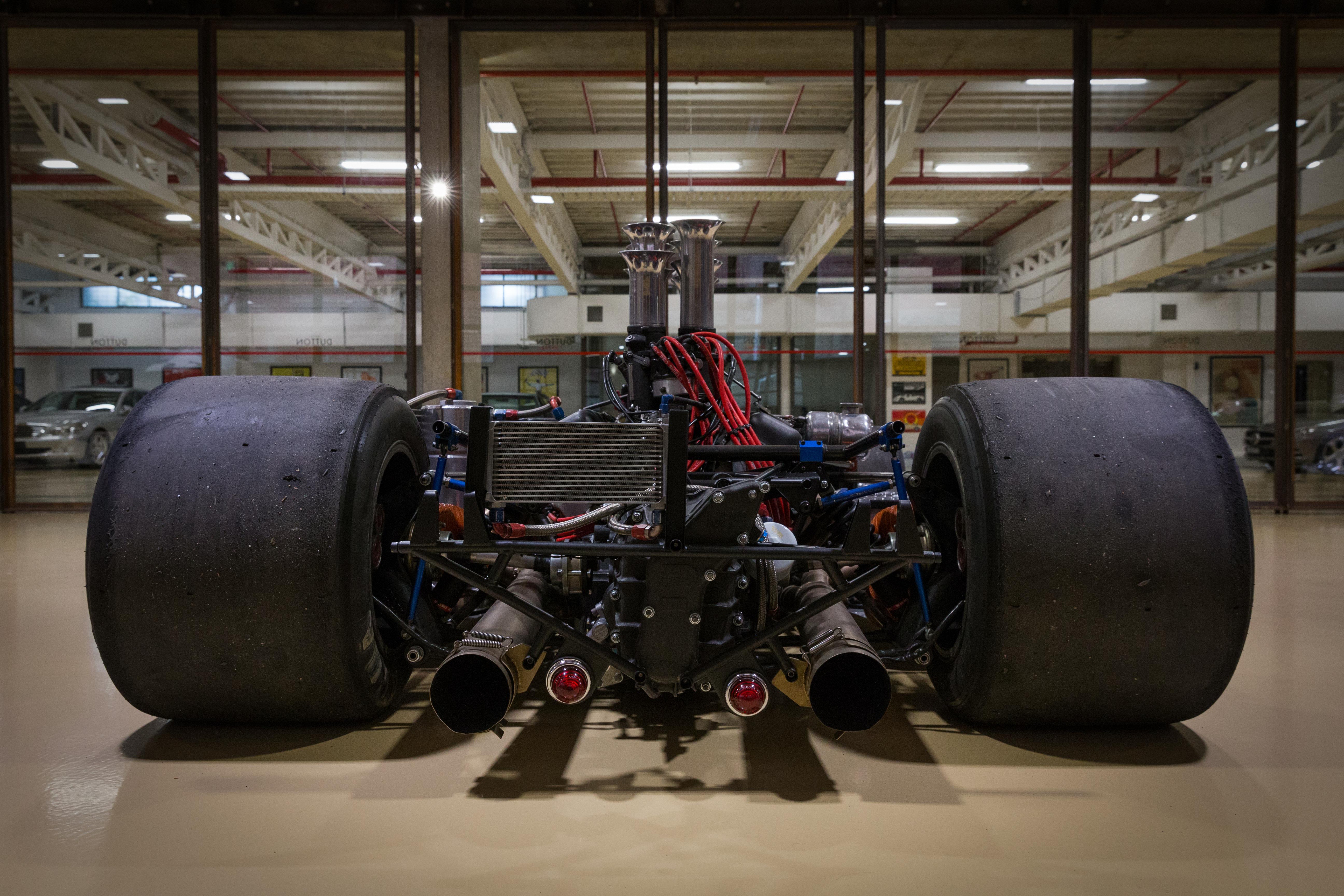 Maclaren M8 race car