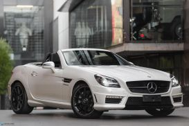 2016 Mercedes-Benz SLK55 R172 AMG Roadster 2dr SPEEDSHIFT PLUS 7sp 5.5i