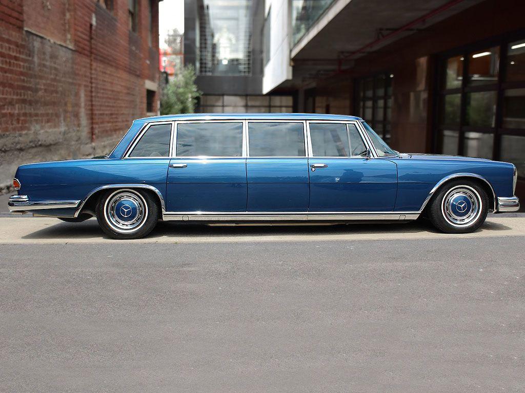1975 mercedes benz 600 6 door pullman rhd for sale for Mercedes benz garages