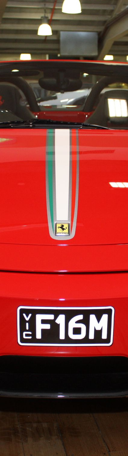 2009 Ferrari F430 16M in corsa rossa was sold at Dutton Garage in Melbourne, Australia