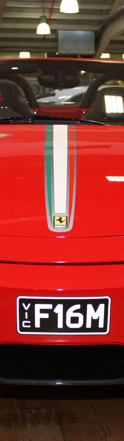 2009 Ferrari F430 16M in corsa rossa was sold at Dutton Garage in Melbourne, Australia
