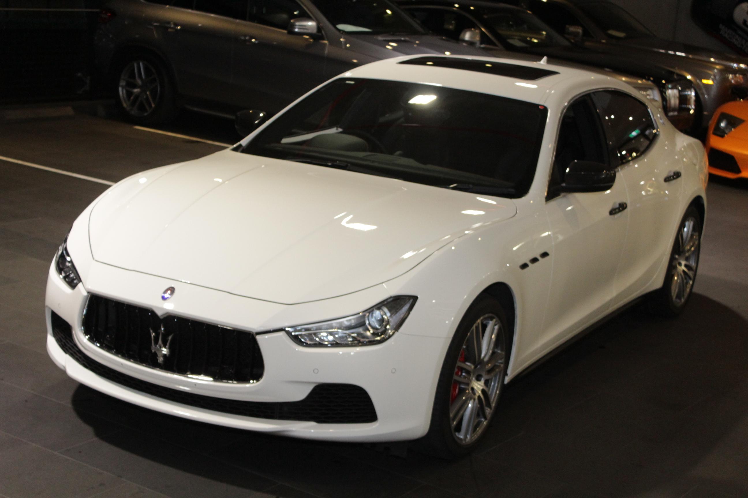 2017 Maserati Ghibli M157 Sedan 4dr Spts Auto 8sp 3.0TT MY17