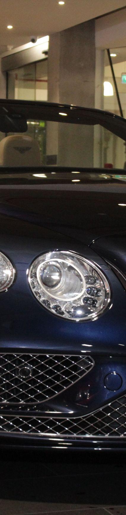 2015 Bentley Continental 3W GT Speed Convertible 2dr Spts Auto 8sp 4x4 6.0TT [MY16] in blue at Dutton Garage for sale 41 Madden grove Richmond Melbourne Victoria Australia Make Mine Rare