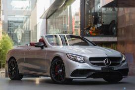 2016 Mercedes-Benz S63 A217 AMG Cabriolet 2dr SPEEDSHIFT MCT 7sp 5.5TT [Oct]