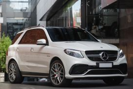 2015 Mercedes-Benz GLE-Class W166 GLE63 AMG S Wagon 5dr SPEEDSHIFT PLUS 7sp 4MATIC 5.5TT [Jun]