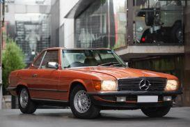1981 Mercedes-Benz 380SL R107 Convertible 2dr Auto 4sp 3.8i [Jan]