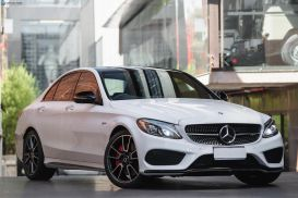 2018 Mercedes-Benz C-Class W205 C43 AMG Sedan 4dr 9G-TRONIC 9sp 4MATIC 3.0TT