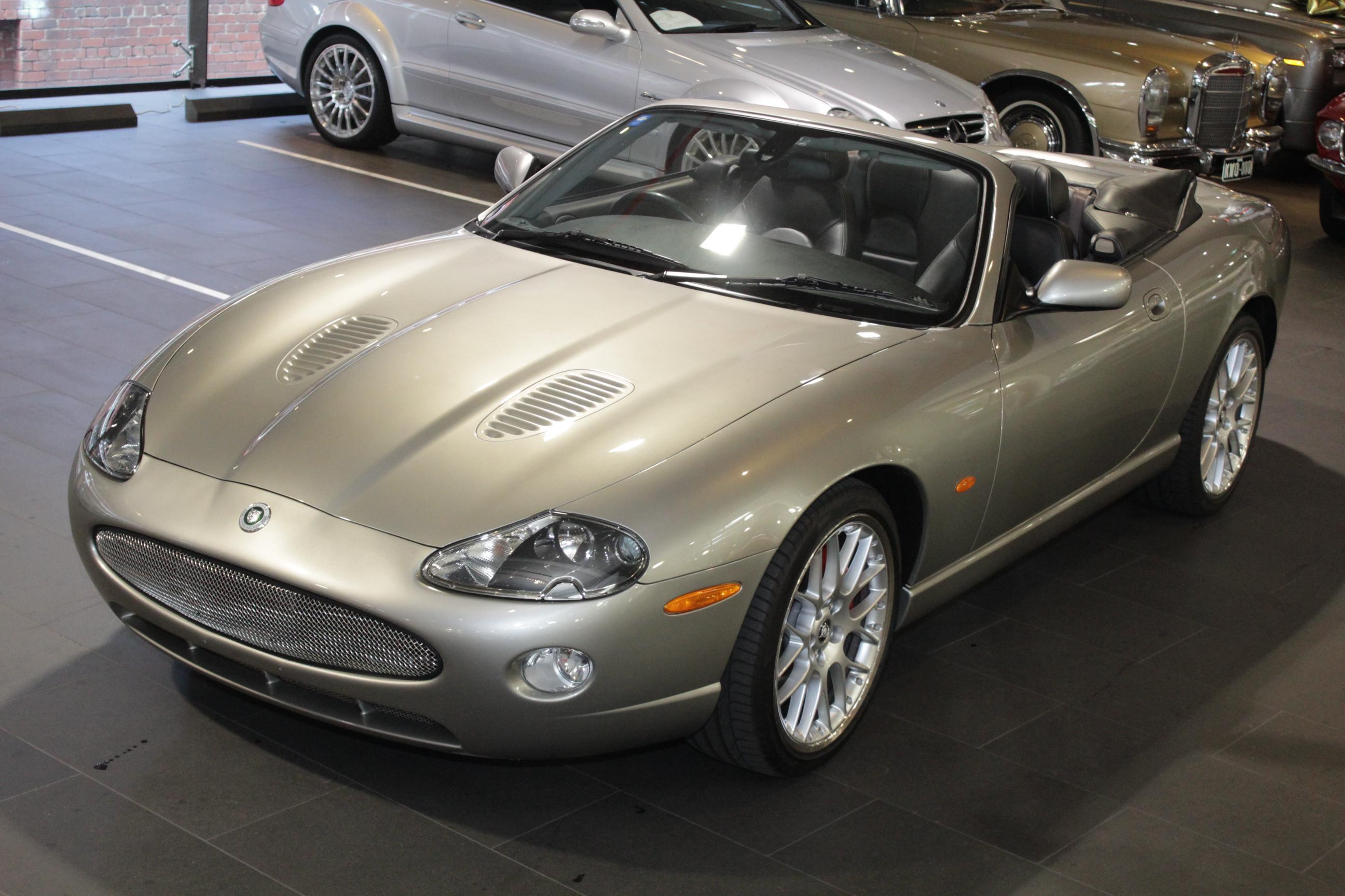 2005 Jaguar XKR X100 4.2 S Convertible 2dr Auto 6sp 4.2SC ...
