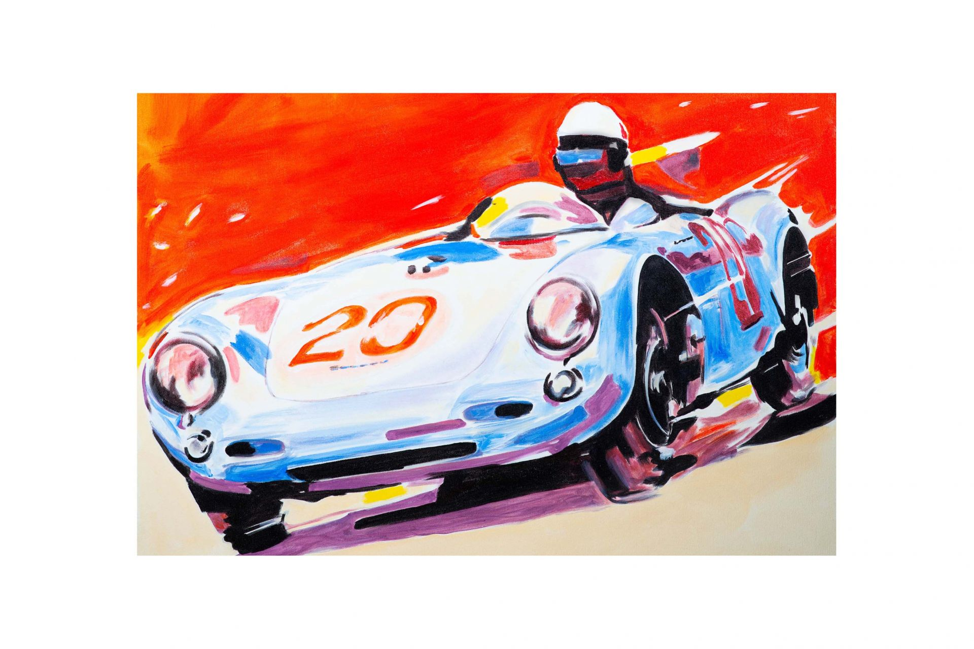 gay painting porsche