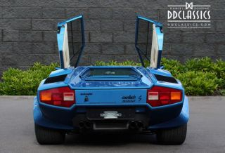 1984 Lamborghini Countach 5000 S Lhd Car Located In Uk