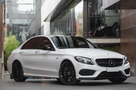 2017 Mercedes-Benz C-Class W205 C43 AMG Sedan 4dr 9G-TRONIC 9sp 4MATIC 3.0TT [Jan]
