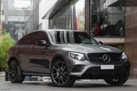 2019 Mercedes-Benz GLC-Class C253 GLC43 AMG Coupe 5dr 9G-TRONIC 9sp 4MATIC 3.0TT
