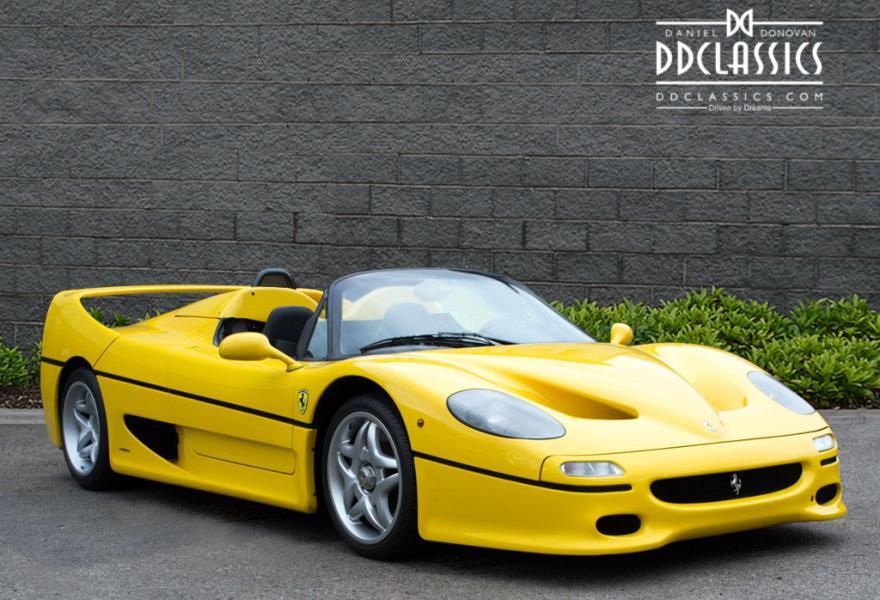 1997 Ferrari F50 LHD (Car Located In UK)