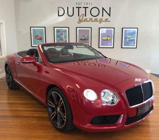 2012 Bentley Continental GTC (Car Located In NZ