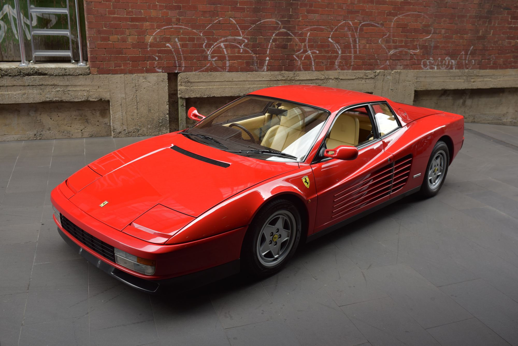 a listing testarossa img lot bat trailer mile january on auctions for sold sale ferrari bring