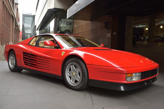 1990 Ferrari Testarossa Coupe 2dr Man 5sp 4.9i [IMP] for sale at dutton garage Melbourne Australia classic prestige car dealership