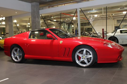 2006 Ferrari Superamerica 575 Convertible 2dr Man 6sp 5.7i for sale at Dutton garage Richmond Melbourne Australia classic car dealership