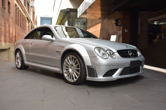 2008 mercedes-benz clk63 black series rare modern classic sports car for sale at dutton garage melbourne australia classic car dealership