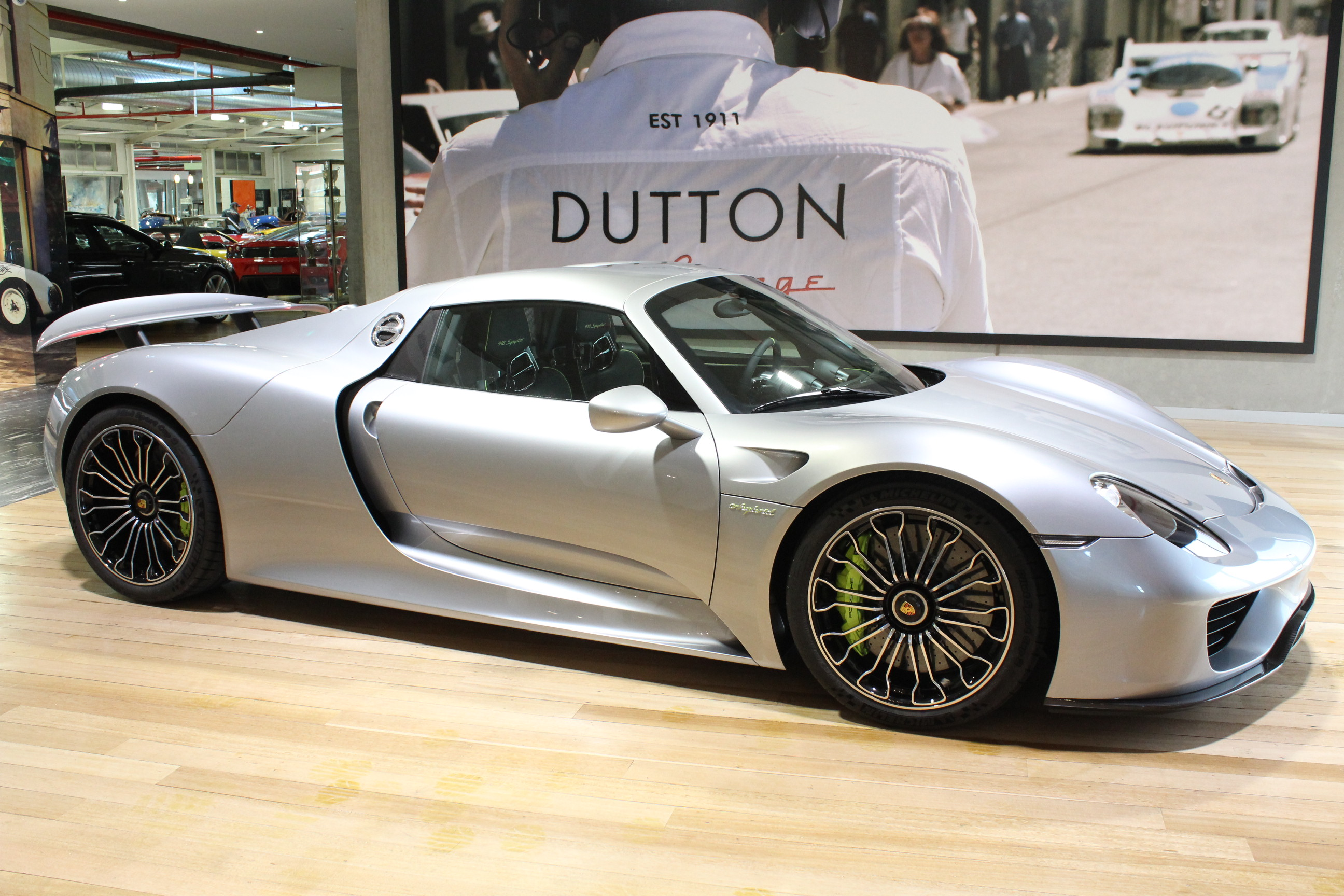 2015 Porsche 918 Spyder - Unique and rare cars sold at Dutton Garage, Australia's premier prestige, luxury and classic car dealer.