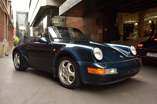 1993 Porsche 911 964 Turbo-Body Cabriolet 2dr Man 5sp 3.6T for sale at Dutton garage classic vintage collectable car dealership Melbourne Australia