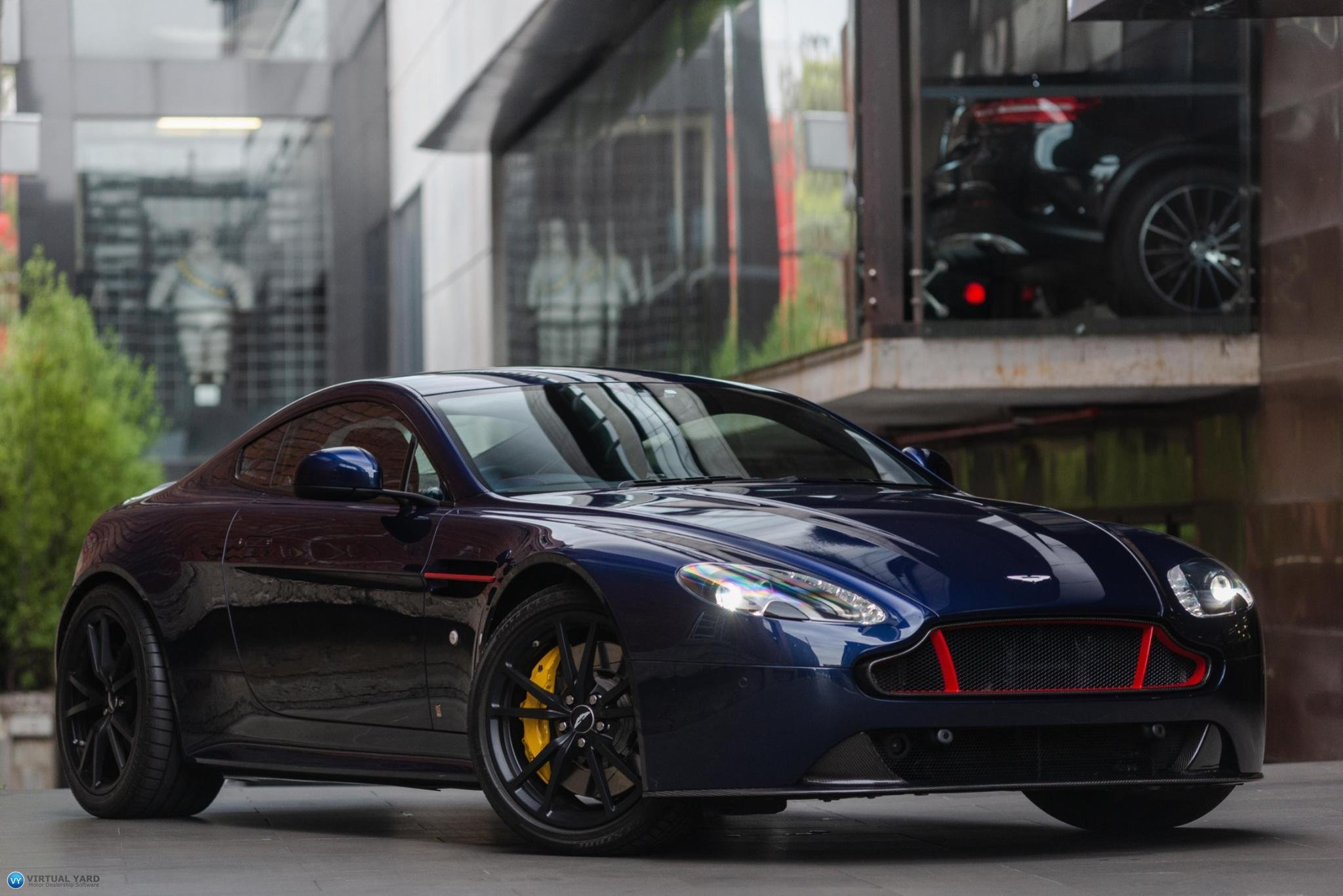 2017 Aston Martin V8 Vantage S Red Bull Racing Edition Coupe 2dr Man 6sp 4 7i My17 5
