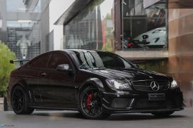 2012 Mercedes-Benz C-Class C204 C63 AMG Black Series Coupe 2dr SPEEDSHIFT MCT 7sp 6.3i [MY12]