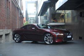 2018 Lexus LC URZ100R LC500 Coupe 2dr Spts Auto 10sp, 5.0i