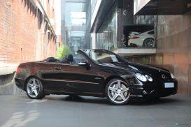 2007 Mercedes-Benz CLK-Class C209 CLK63 AMG Cabriolet 2dr Auto 7sp 6.3i [MY07]
